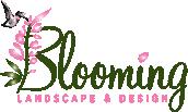 Blooming Landscape & Design Logo